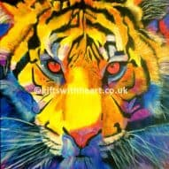tiger painitng