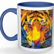 tiger face mug designed by gifts with heart
