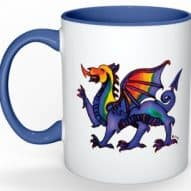 welsh dragon mug by gifts with heart