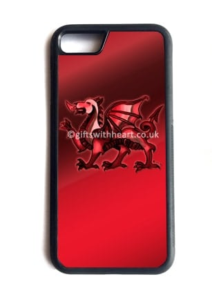Welsh Dragon phone case