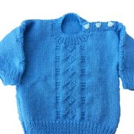 welsh clothes baby's blue cardigan