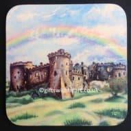 welsh carew castle coaster