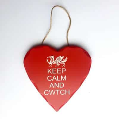 welsh cwtch wall plaque