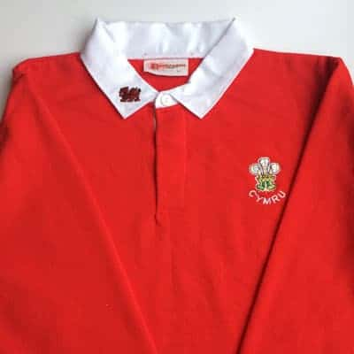 welsh rugby jersey
