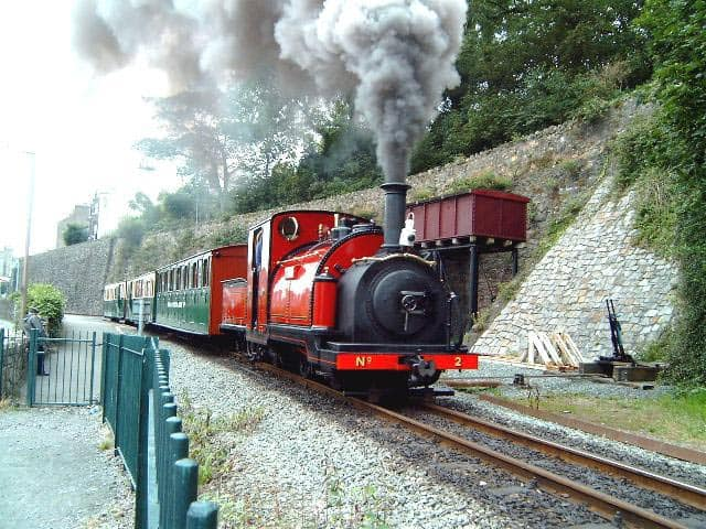 Ffestiniog Welsh Highland Railway. Photo by Barrie Hughes