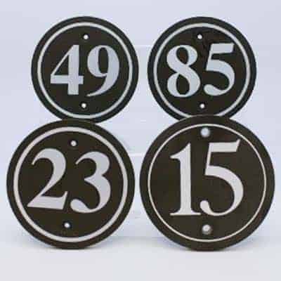 slate house numbers. Welsh slate gifts