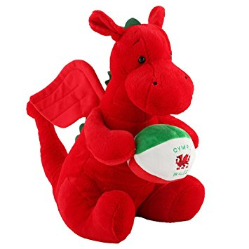 Welsh Dragon soft toy