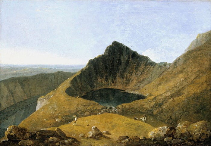 welsh painter Richard Wilson Llyn-y-Cau, Cader Idris