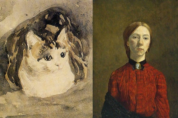 welsh artists gwen john. famous welsh artists