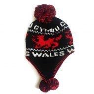 Welsh bobble hat