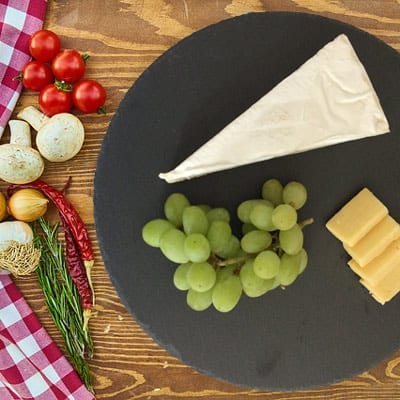 welsh slate gifts - cheese plate
