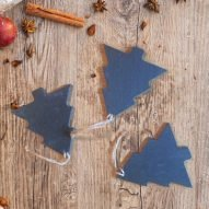 welsh slate christmas tree decorations