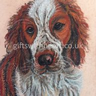 welsh terrier pastel picture for sale