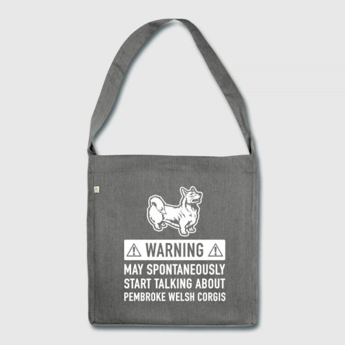 Funny Welsh gifts - corgi bag