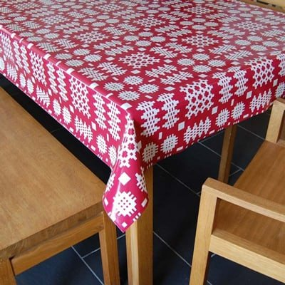 tablecloth tapestry pattern. Welsh gifts for her