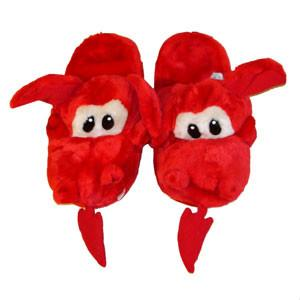 Welsh dragon slippers. Funny Welsh gifts