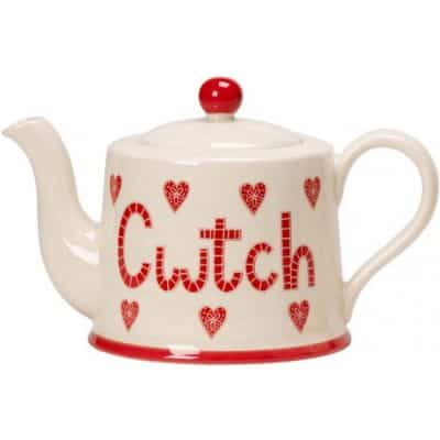 welsh gifts for her. Cwtch teapot.