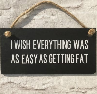 welsh slate funny plaque
