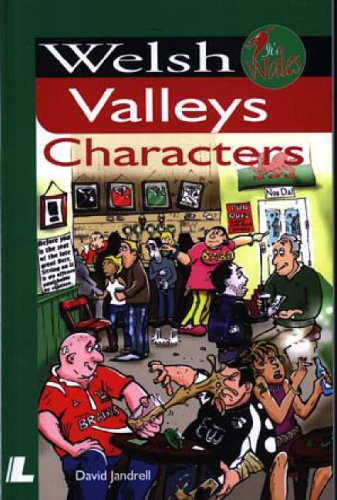 welsh valley characters front cover of book written by David Jandrell