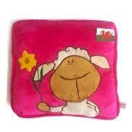 Welsh sheep cushion pink