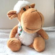 cuddly toy sheep