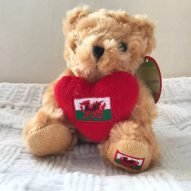 small welsh teddy bear
