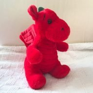 welsh dragon cuddly toy