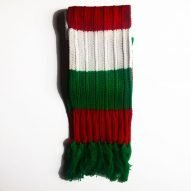 Welsh colours scarf. welsh gifts. welsh rugby gifts.