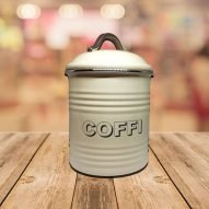 welsh coffee tin container.