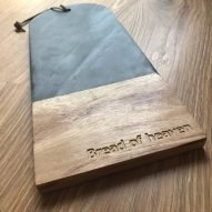 bread of heaven slate chopping board