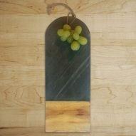 welsh slate chopping board. welsh slate gifts