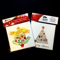 Welsh Christmas cards. Pack of 6.