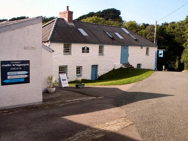 Melin Tregwynt woollen mill in Wales