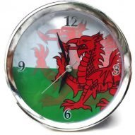 Welsh dragon alarm clock