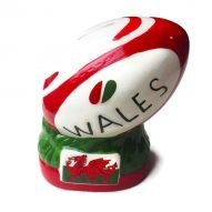 Welsh rugby ball money box