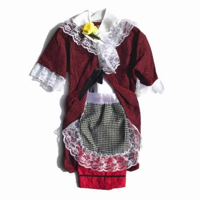 Girl's Welsh costume