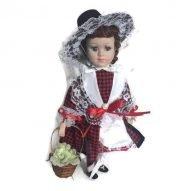 porcelain welsh doll