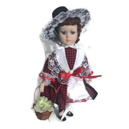 porcelain welsh doll