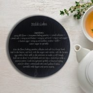welsh cakes recipe slate trivet teapot stand