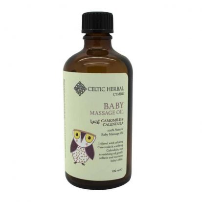 Baby Massage Oil handmade in Wales