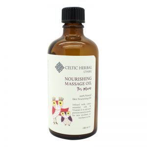 Massage oil for mums. Welsh gifts for her