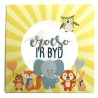 welsh baby card with message welcome to the world