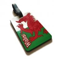 welsh luggage tag