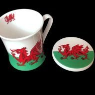 walsh flag mug and coaster set
