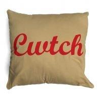 cwtch cushion beige