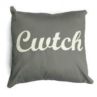 cwtch cushion grey