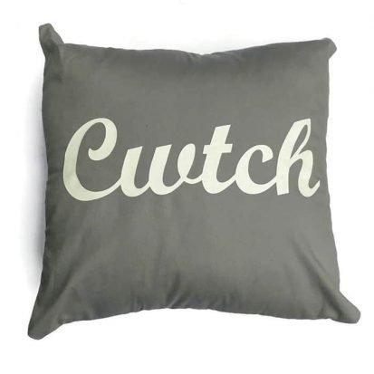 cwtch cushion grey