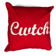 cwtch cushion red