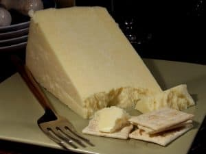 Caerphilly cheese - famous Welsh food