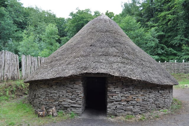Celtic hut in Wales